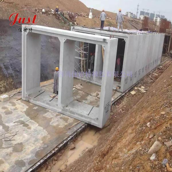 浙江金华市政管廊工程