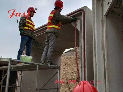 山西忻州管廊项目正在施工中